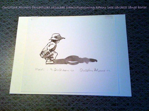 Christinas underbara Maali-skiss från maj -09