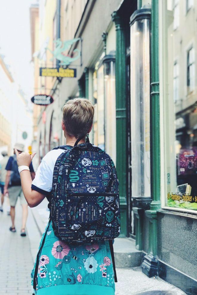 ny ryggsäck inför skolstarten